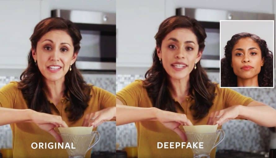 Kaggle, Deepfake, Face detection